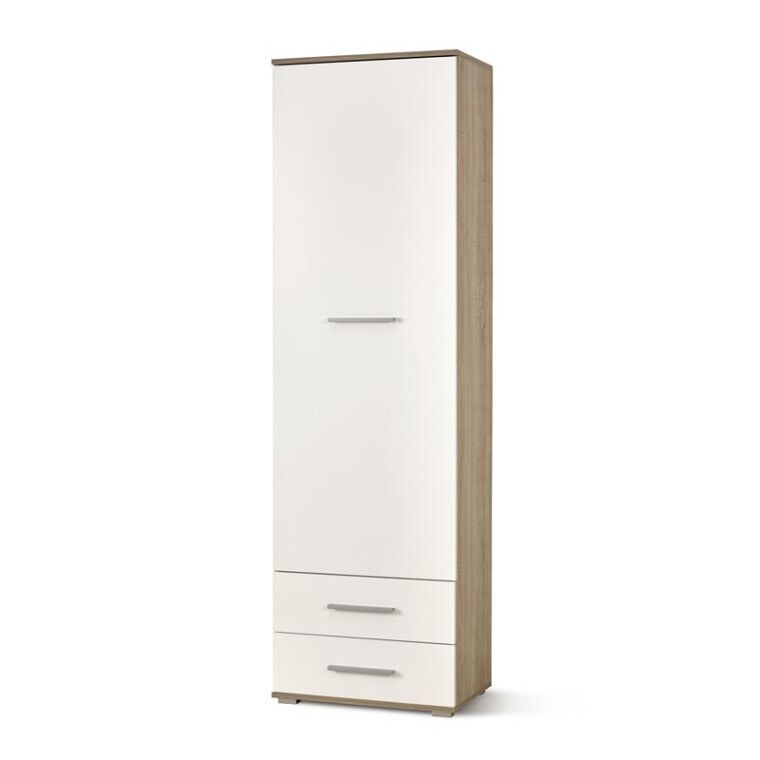 Шкаф Halmar Lima Reg-1 | Дуб сонома / Белый
