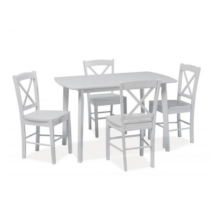 Стол обеденный Signal Luton | Белый - 2
