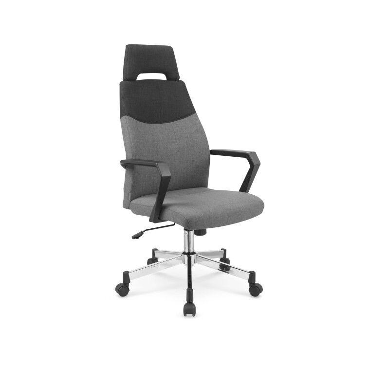 Кресло поворотное Halmar Olaf | Серый
