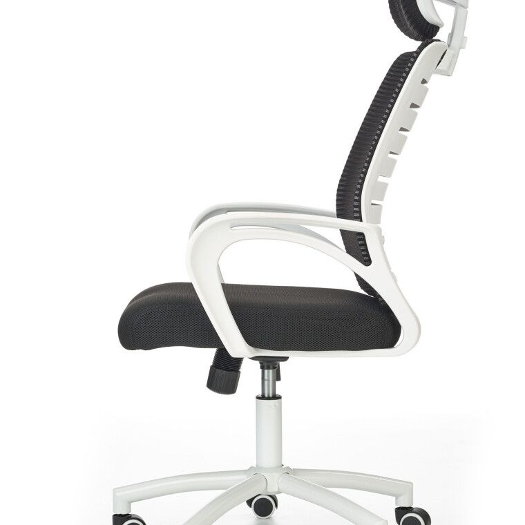Крісло поворотне Halmar Socket | Чорний / Білий - 9
