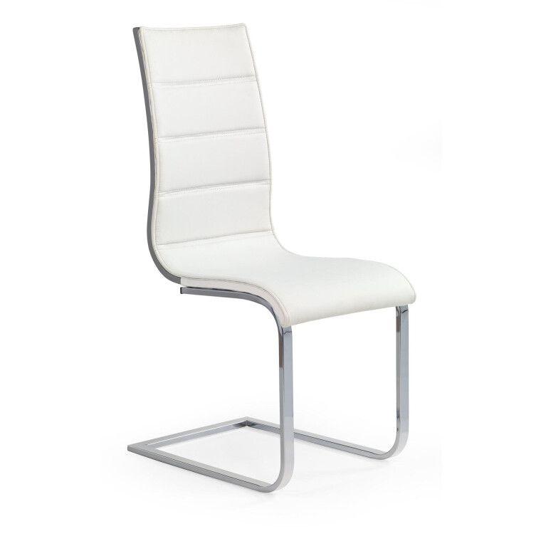 Стул Halmar K104 | Экокожа / Белый / серый