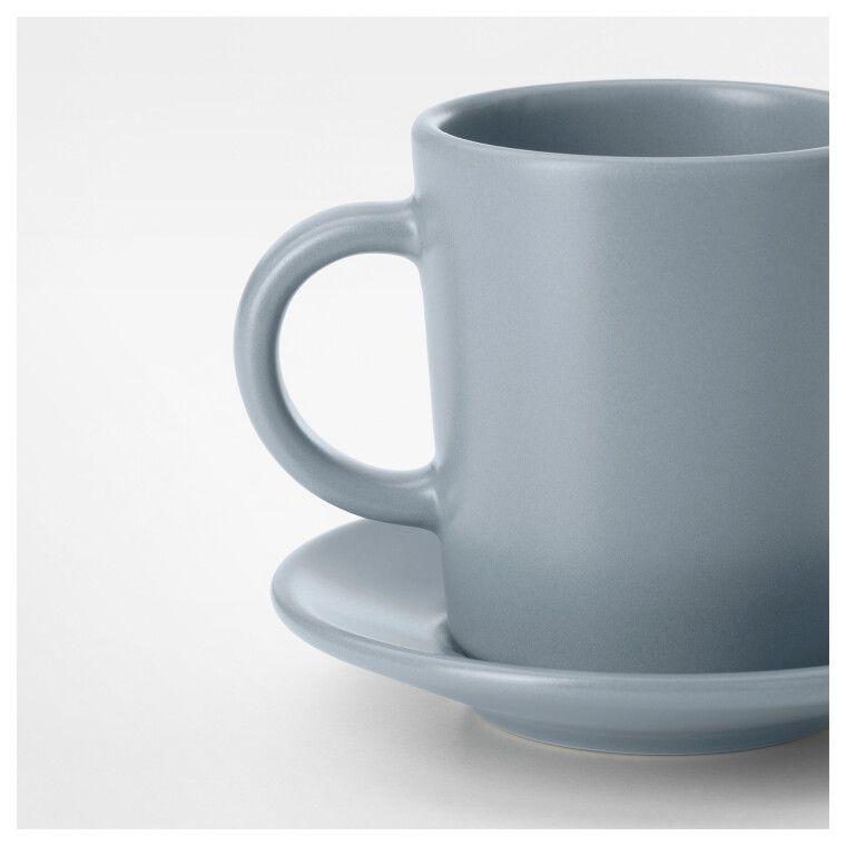 Чашка для кофе эспрессо с блюдцем DINERA - 3