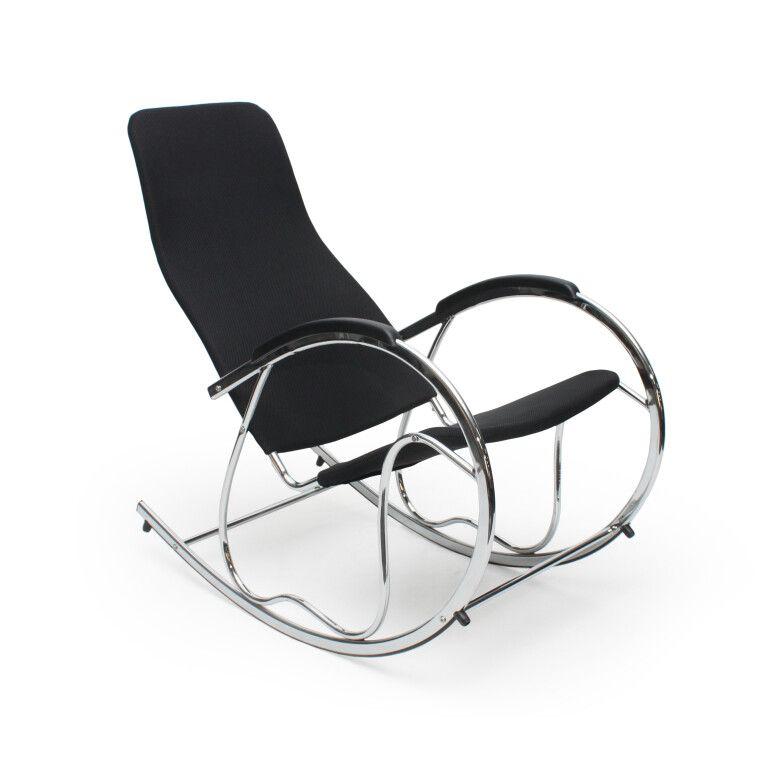 Кресло-качалка Halmar Ben 2 | Черный