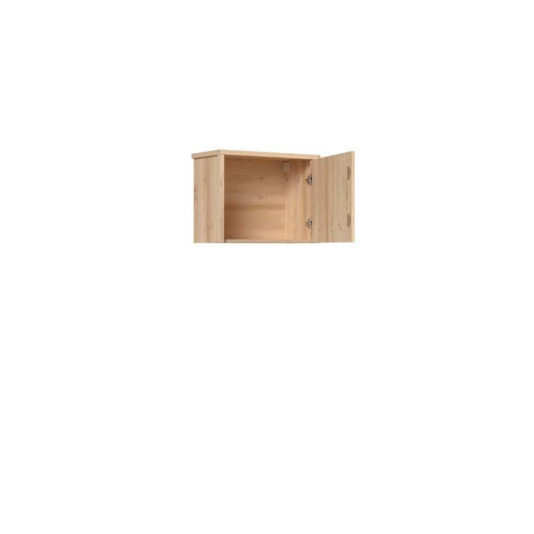 Шкаф навесной BRW Namek | Бук / Белый / Серый фото - 3