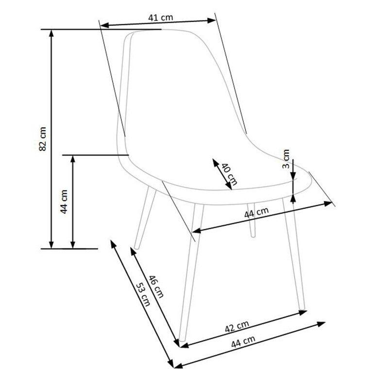 Стул Halmar K220 | Серый - 5