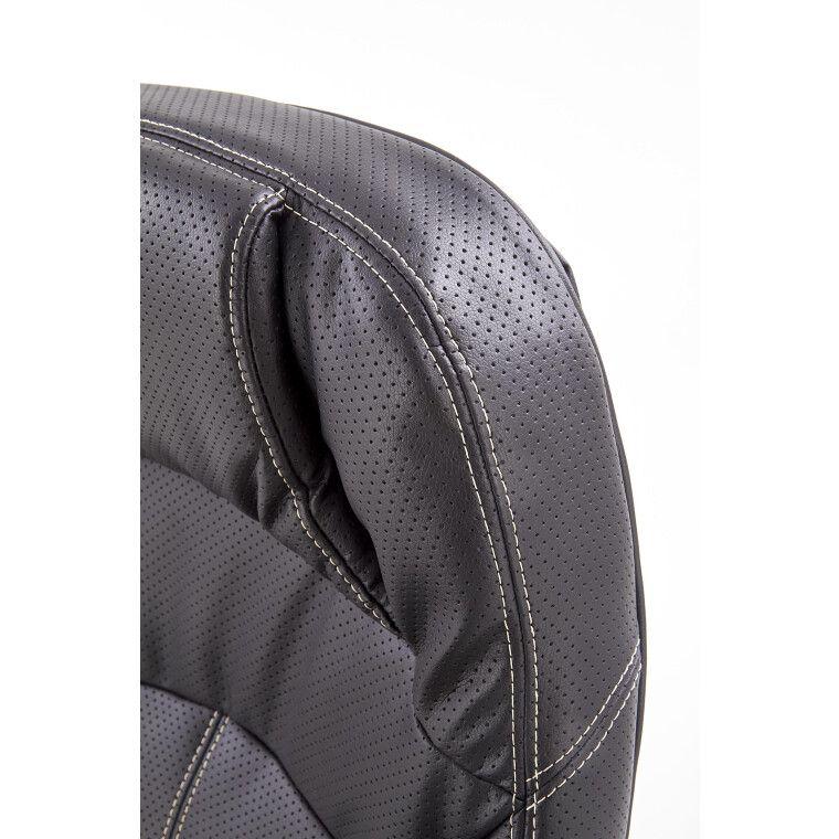 Кресло поворотное Halmar Carlos   Черный - 5