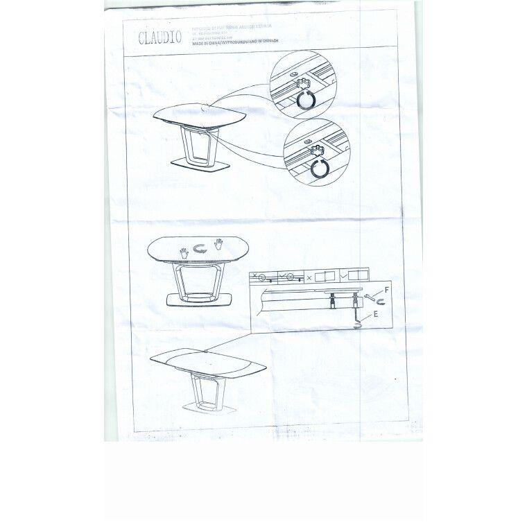 Стол обеденный Signal Claudio | Белый - 3