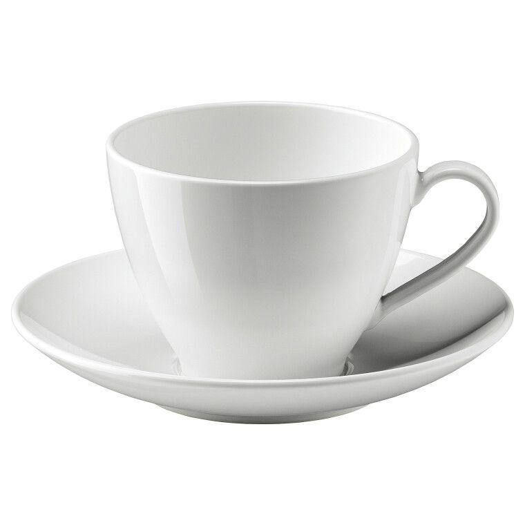 Чашка чайная с блюдцем VÄRDERA