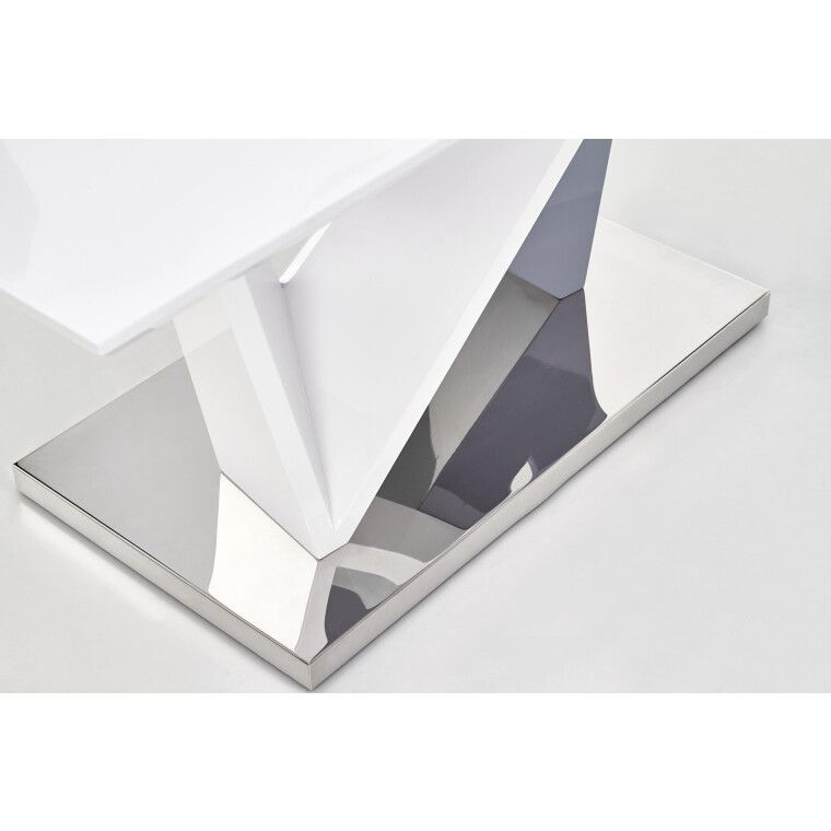 Стол обеденный Halmar Cortez | Белый / серый - 4