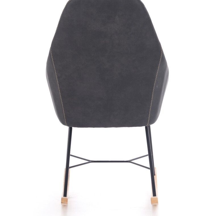 Кресло-качалка Halmar Lagos | Серый - 2