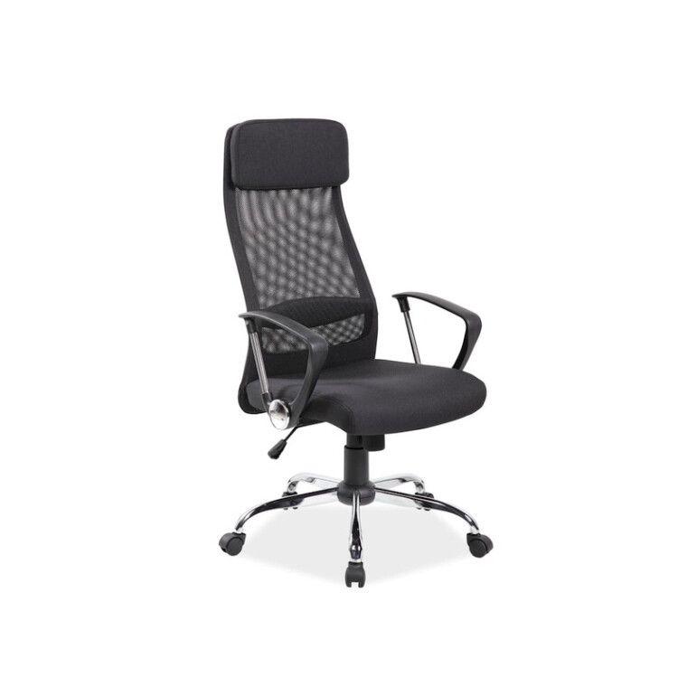 Кресло поворотное Signal Q-345 | Черный