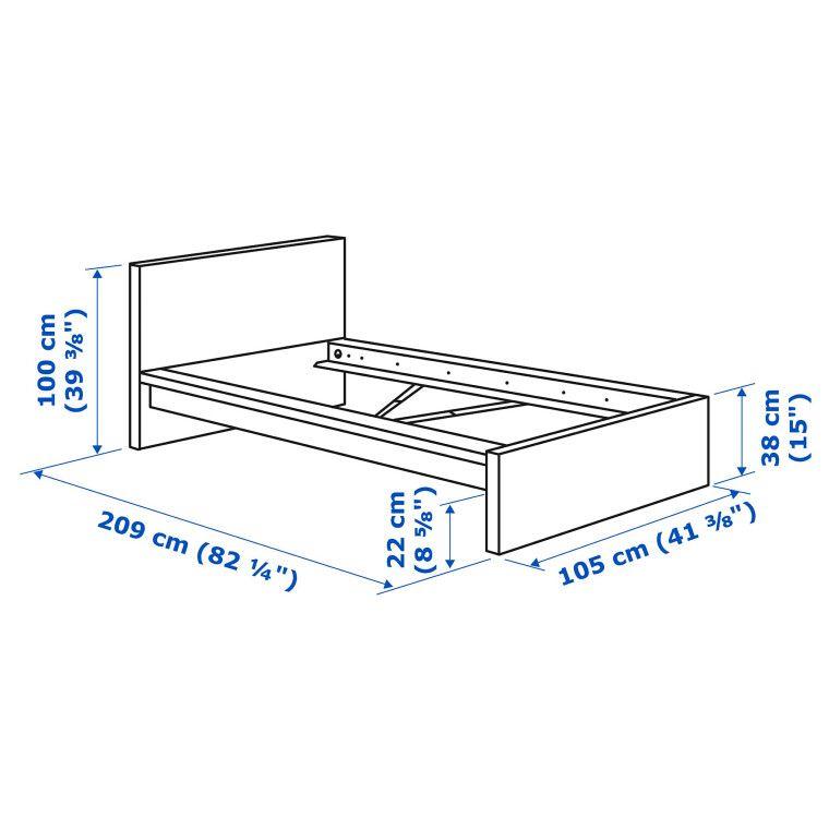 Кровать MALM - 4