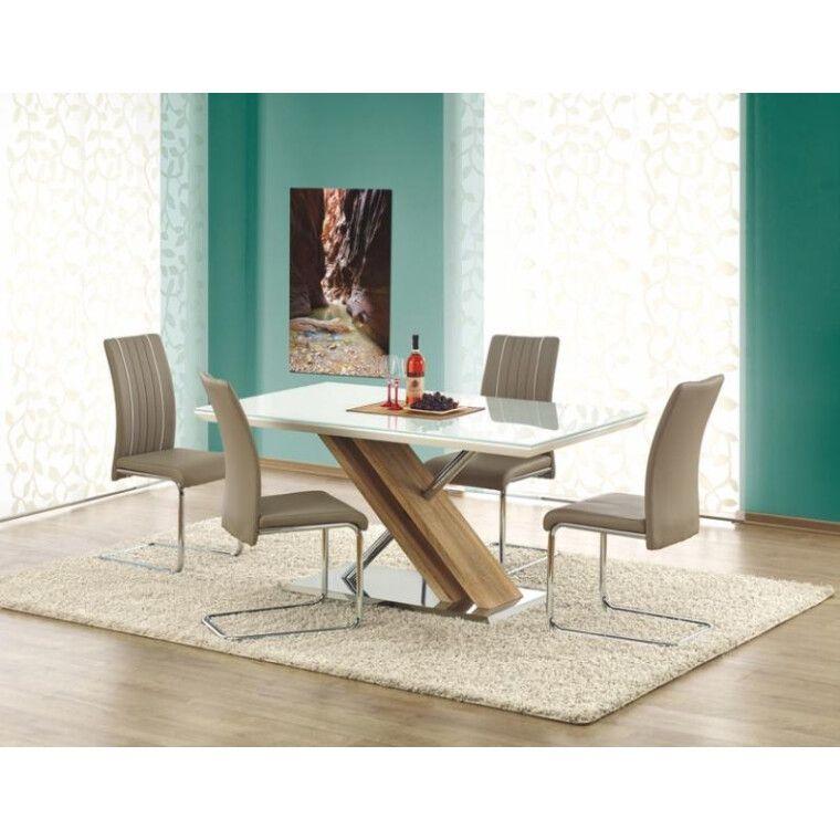 Стол обеденный Halmar Nexus | Дуб Сонома / Белый