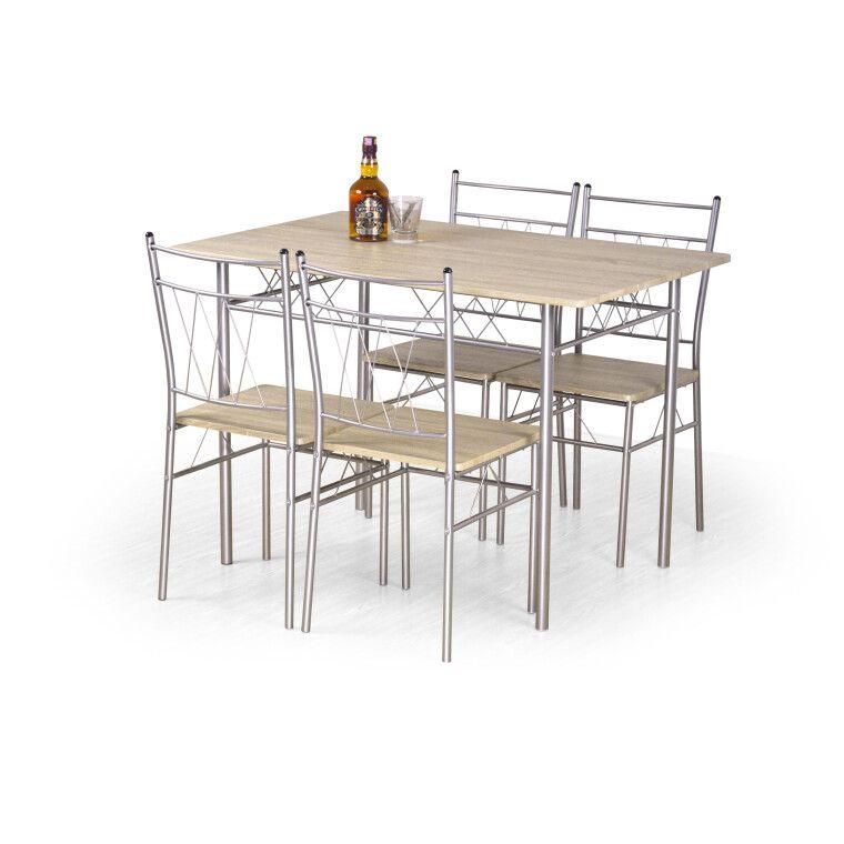 Набор мебели столовой Halmar Faust | Дуб сонома