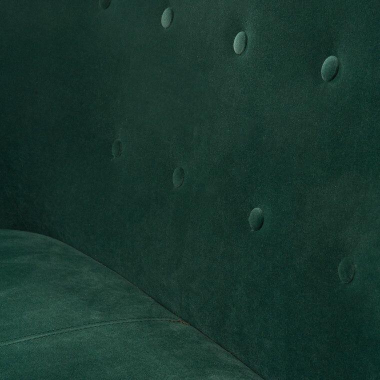 Диван Signal Nordic 2 Velvet | Зеленый (Bluvel 78) - 6
