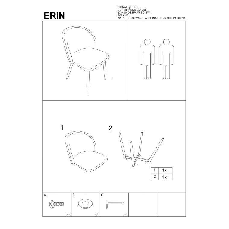 Стул Signal Erin | Серый - 2