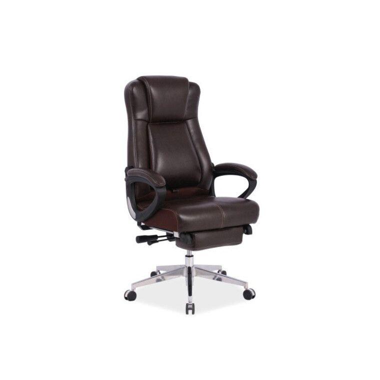 Кресло поворотное Signal President | Коричневый