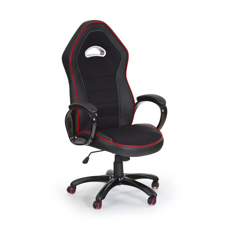 Кресло поворотное Halmar Enzo | Черный