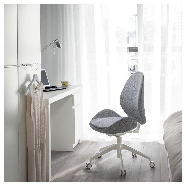 Кресло поворотное HATTEFJÄLL - 4
