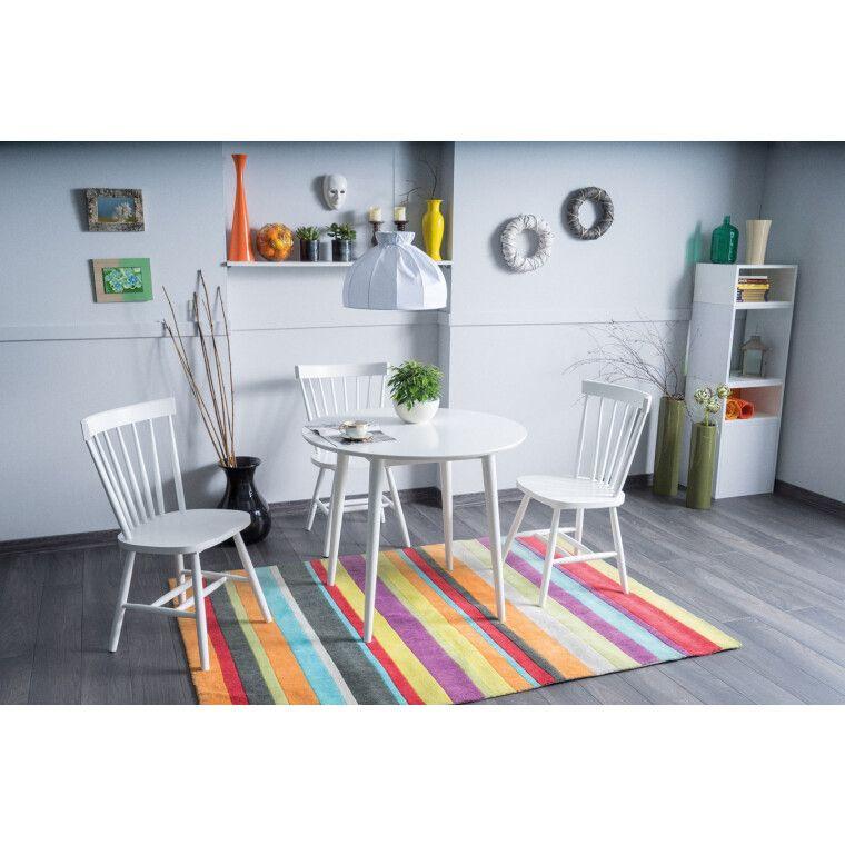 Стол обеденный Signal Larson | 90х90 / Белый - 2