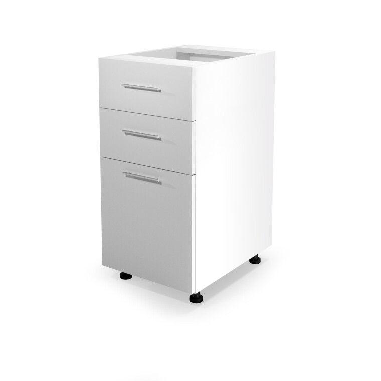 Нижний шкаф модульный Halmar Vento D3S-40/82 | Дуб медовый