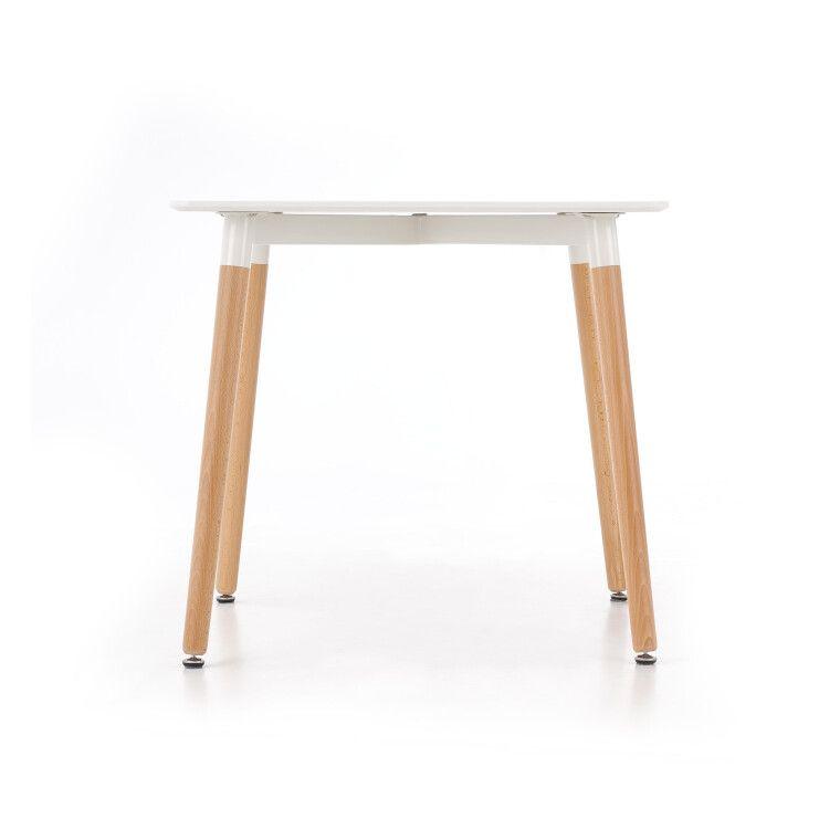Стол обеденный Halmar Socrates квадратный | Белый - 4
