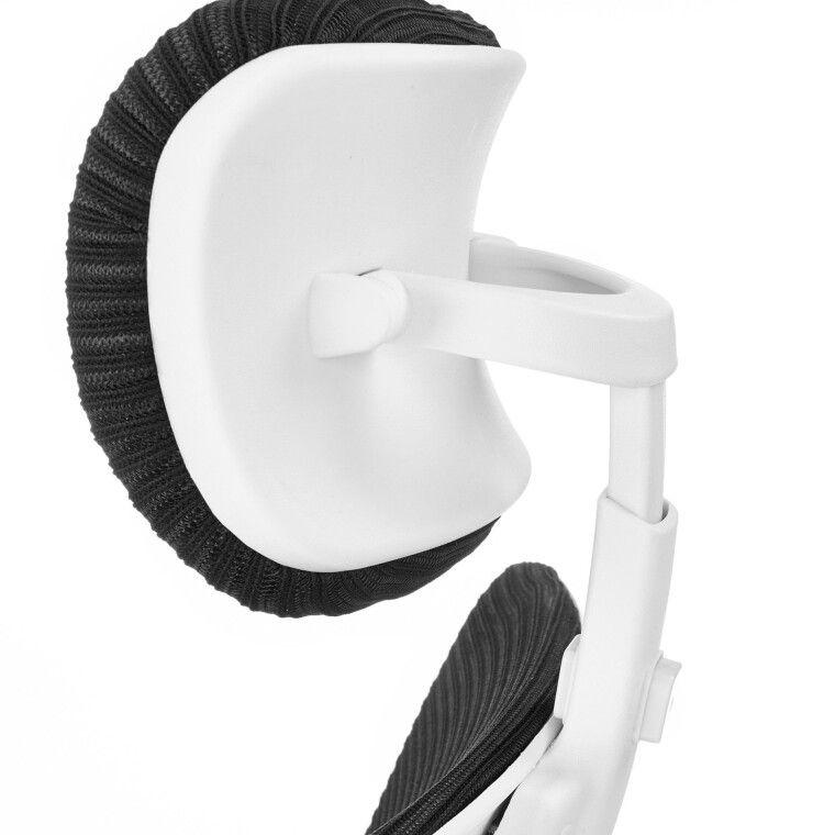 Крісло поворотне Halmar Socket | Чорний / Білий - 5