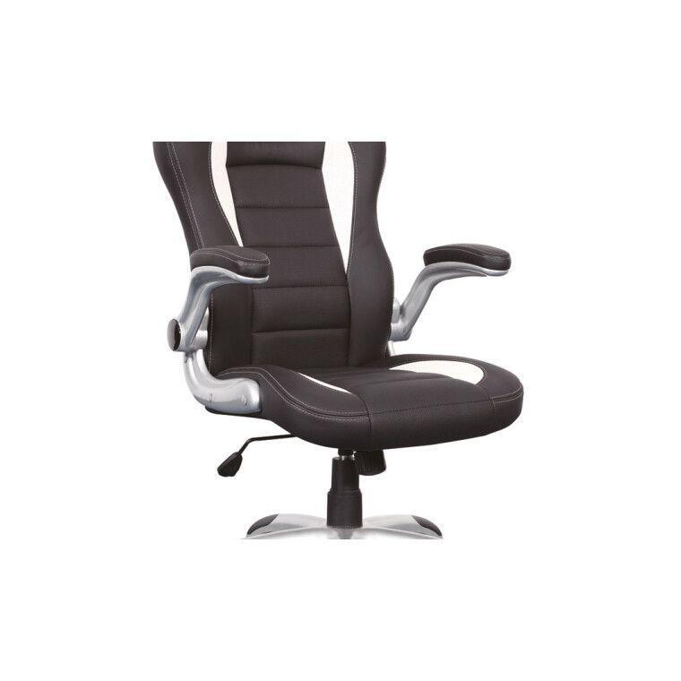 Кресло поворотное Signal Q-024   Черный / белый - 5