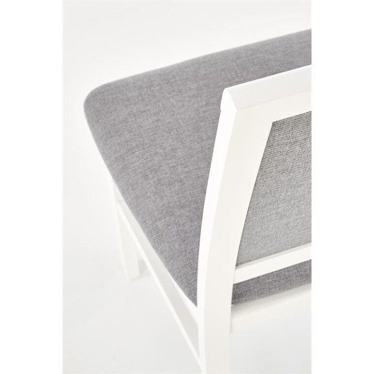 Стул кухонный Halmar Sylwek 1 Bis | Белый / Серый (Inari 91) - 4