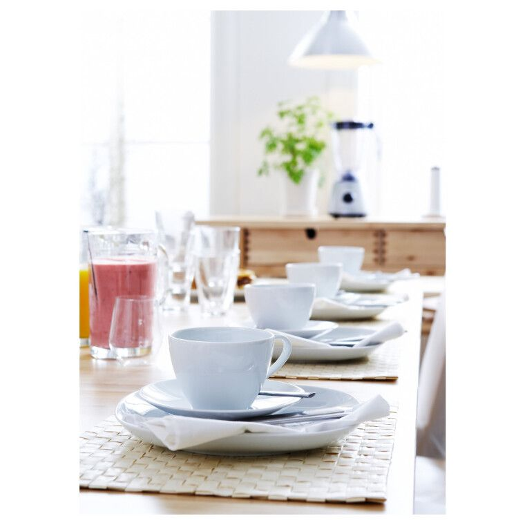 Чашка чайная с блюдцем VÄRDERA - 4