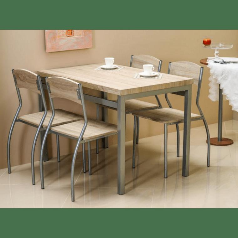 Набор мебели столовой Signal Astro | Дуб сонома