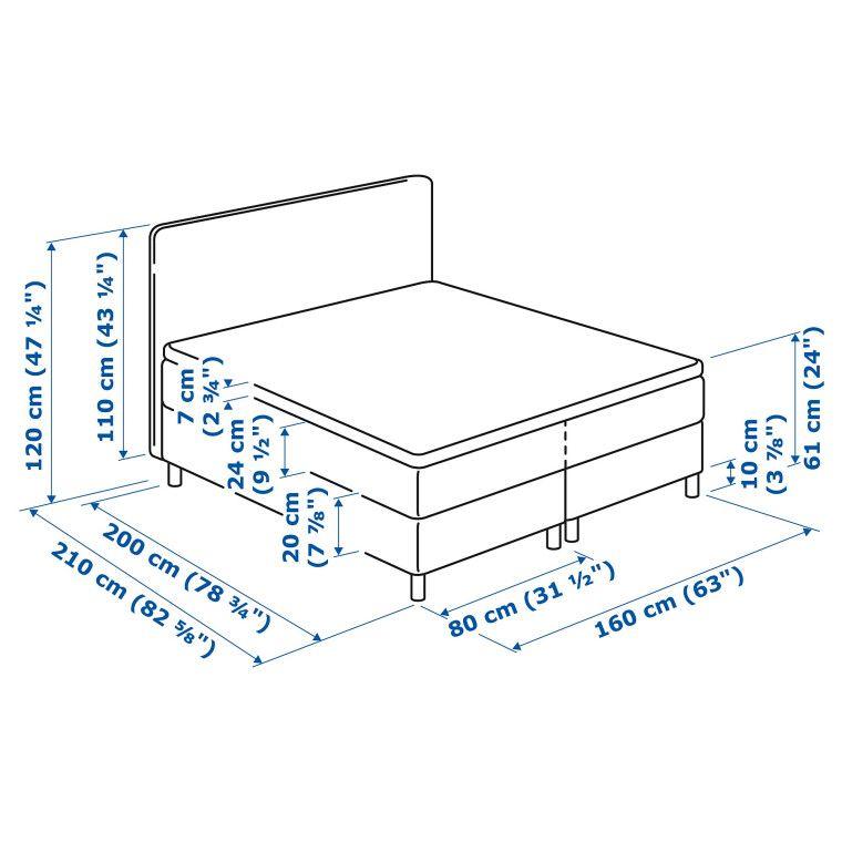 Кровать DUNVIK - 12