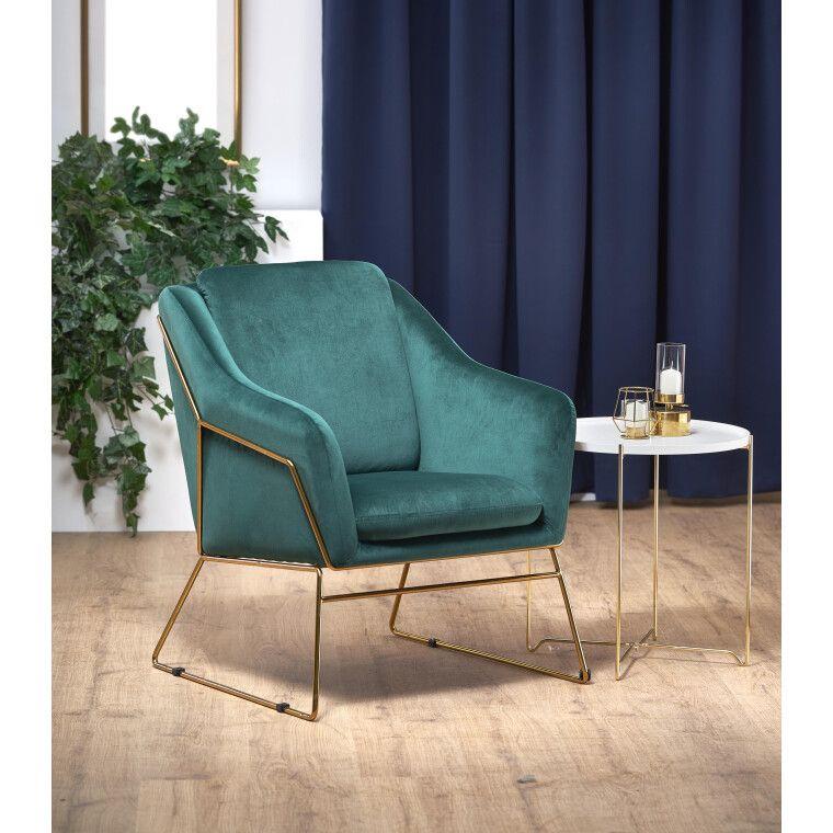 Кресло Halmar Soft 3 | Зеленый - 3