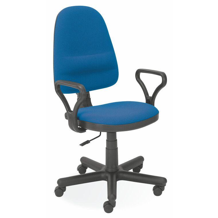 Стілець офісний Halmar Bravo | Синій (C6)