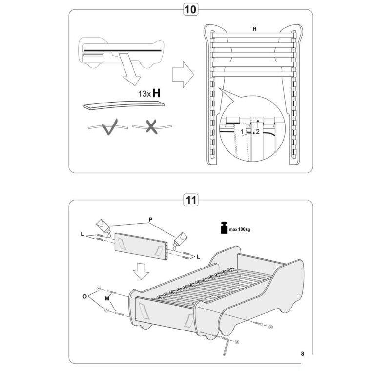 Кровать детская Halmar Digger | Грузовик - 10