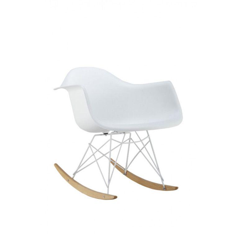 Кресло-качалка Signal Mondi II | Белый / бук