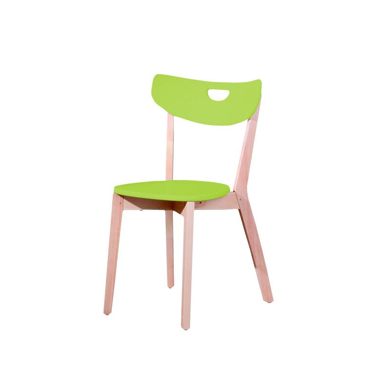 Стул кухонный Halmar Peppi | Зеленый