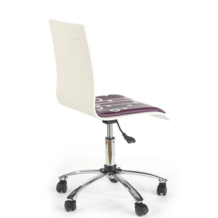 Кресло поворотное Halmar Fun-7 | Фиолетовый - 3