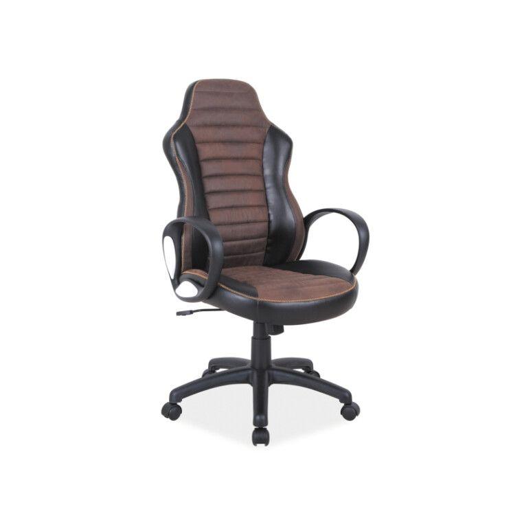 Кресло поворотное Signal Q-212 | Коричневый / черный