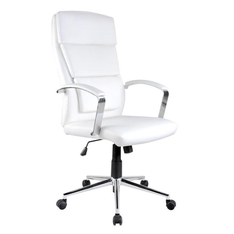 Кресло поворотное Halmar Aurelius   Белый