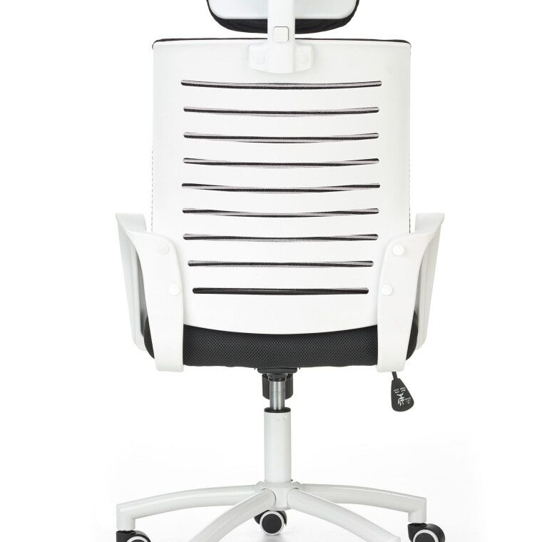 Крісло поворотне Halmar Socket | Чорний / Білий - 8