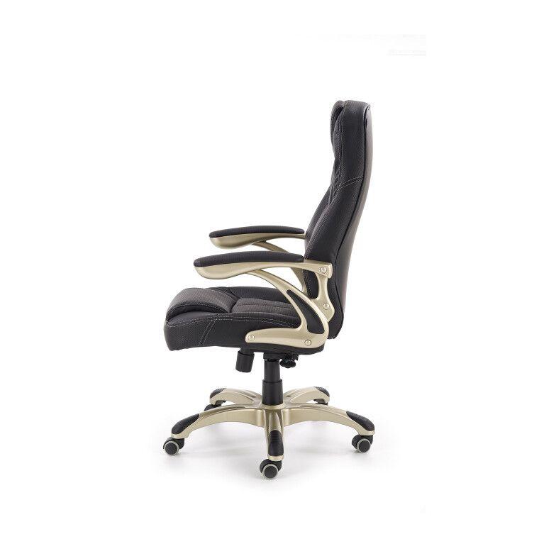 Кресло поворотное Halmar Carlos   Черный - 3