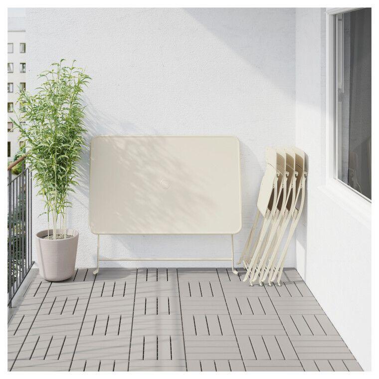 Комплект мебели садовой SALTHOLMEN - 7