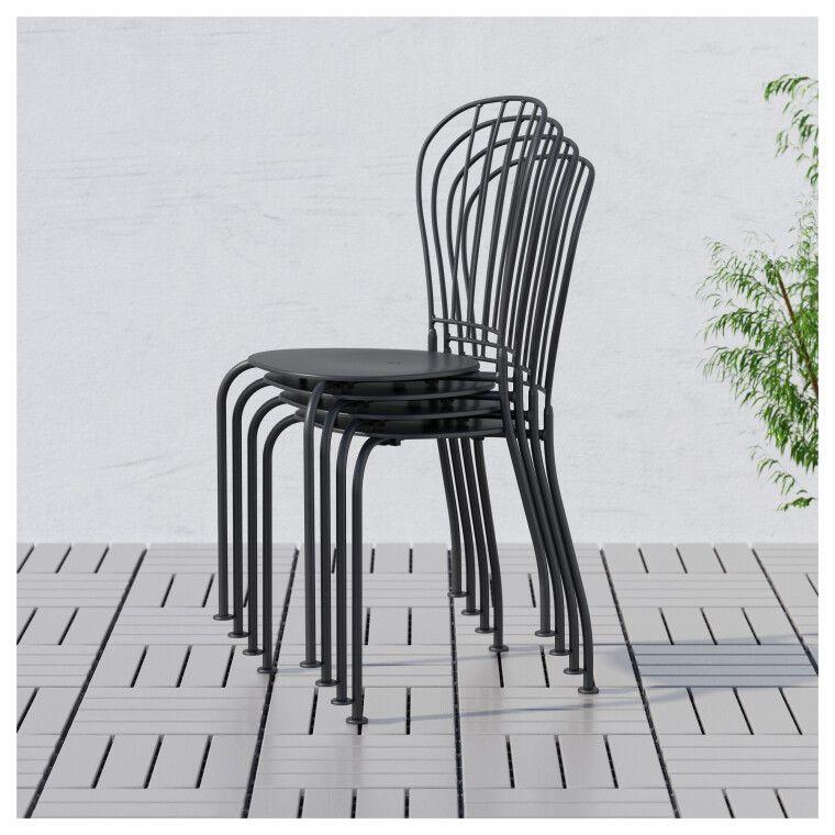 Комплект мебели садовой LÄCKÖ - 10