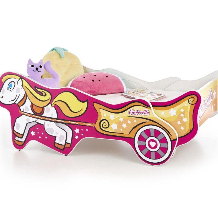 Кровать детская Halmar Cinderella | Золушка - 2