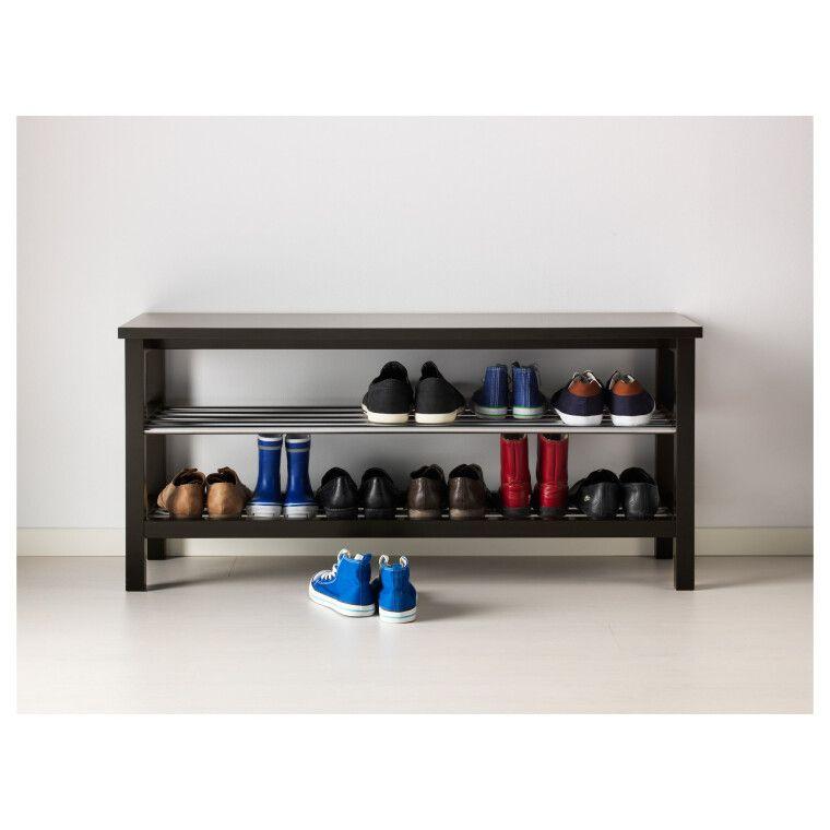 Скамья с полками для обуви TJUSIG - 5