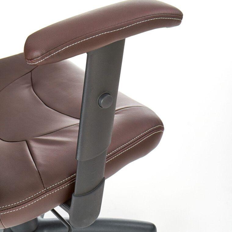 Крісло поворотне Halmar Stilo | Коричневий - 5