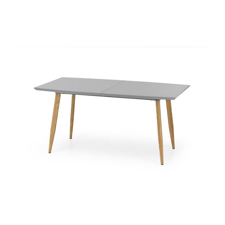 Стол раскладной Halmar Ruten | Дуб медовый / Серый фото - 3