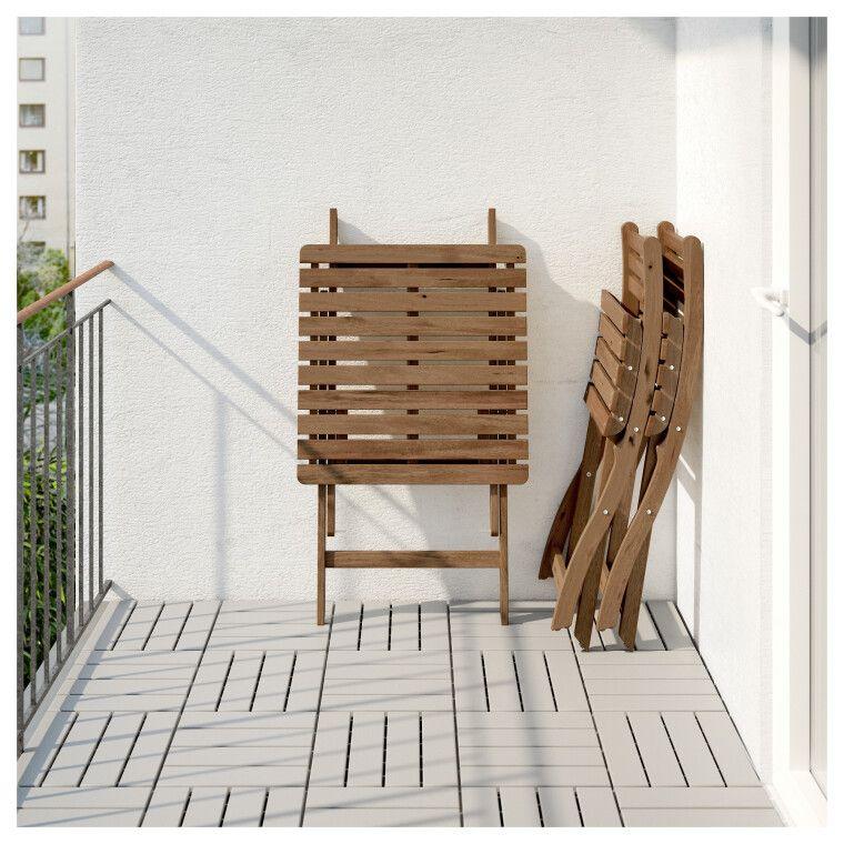 Комплект мебели садовой ASKHOLMEN - 2