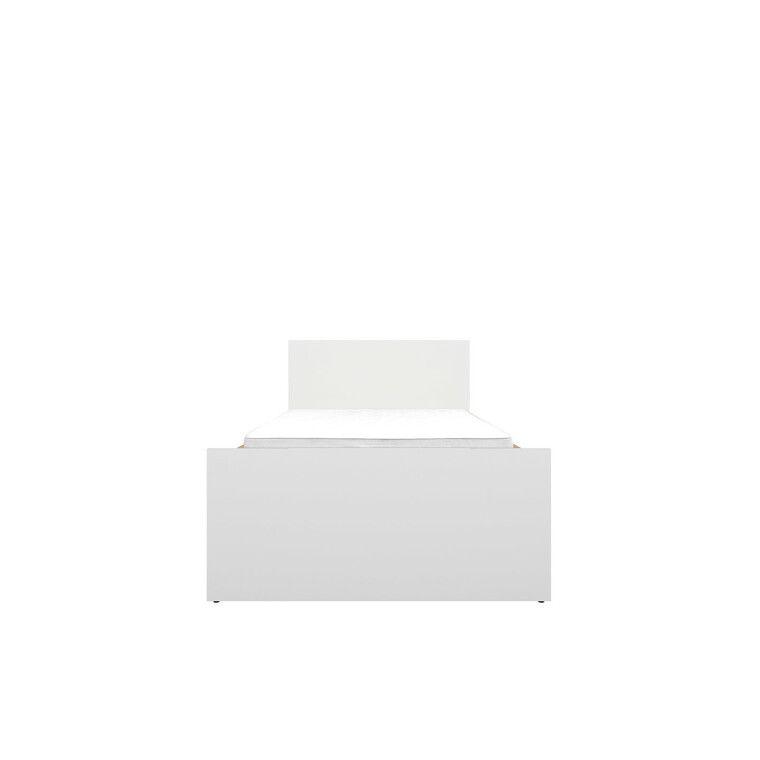 Кровать BRW Princeton | Белый / Дуб польский - 2